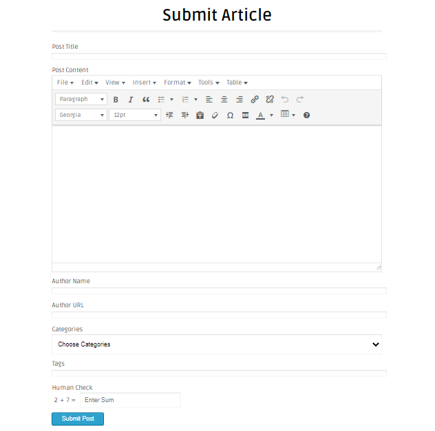 Submit Article - OffPage SEO
